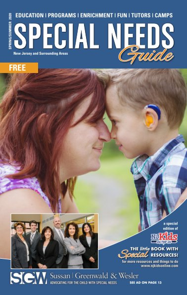 NJ Kids Special Needs Guide 2020