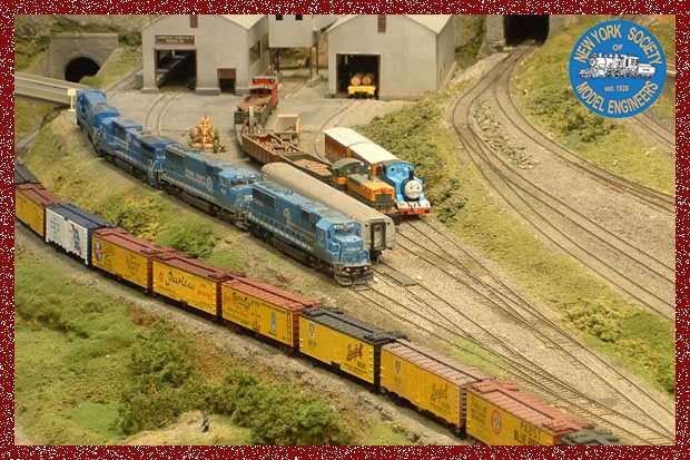 New York Society of Model Engineers - Holiday Train Show