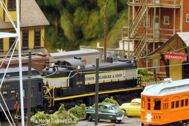 Model Train Displays and Holiday Train Rides