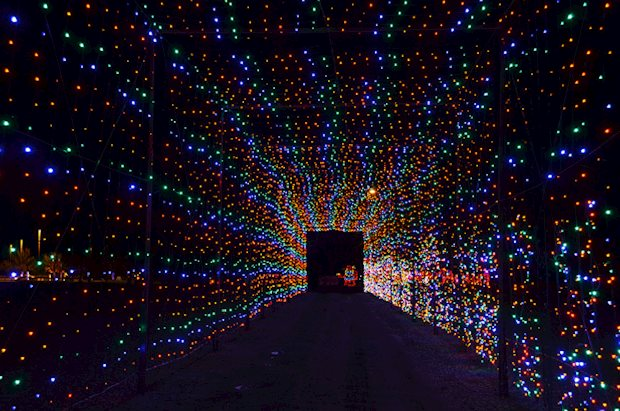 ENTER TO WIN See Christmas Light Show & Village at Skylands Stadium