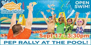 Join NJ KIds for Open Swim at Goldfish Wyckoff Sunday, September 17, 3:30pm