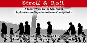 Join NJ Kids: Stroll & Roll - A Family Walk on the Greenway, Sunday, Nov 5