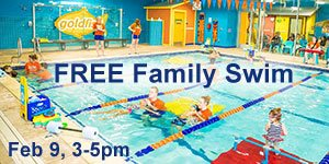 Join NJ Kids at Goldfish Swim School Denville FREE Feb 9, 3-5pm