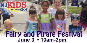 Join NJ Kids -  Fairy and Pirate Festival • May 19, 10am-2pm