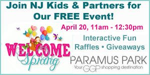 Join NJ Kids' Spring Welcome Event at Paramus Mall, April 20, 11am - 1pm