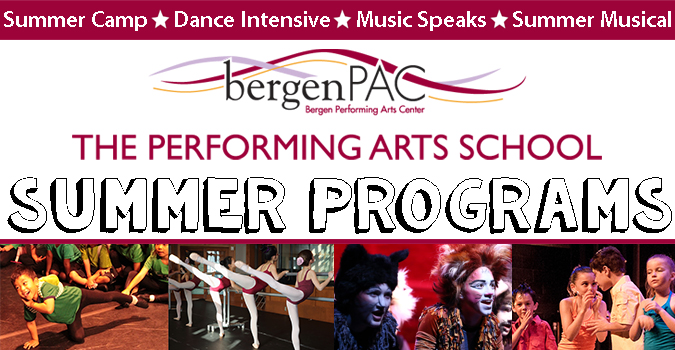 BergenPAC Summer Camp Programs, Englewood, NJ