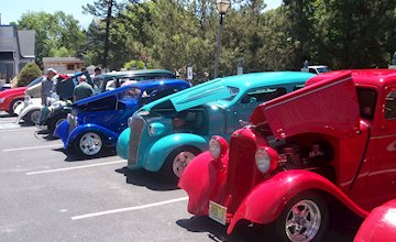 Car Cruises at The Village Greene at Historic Smithville