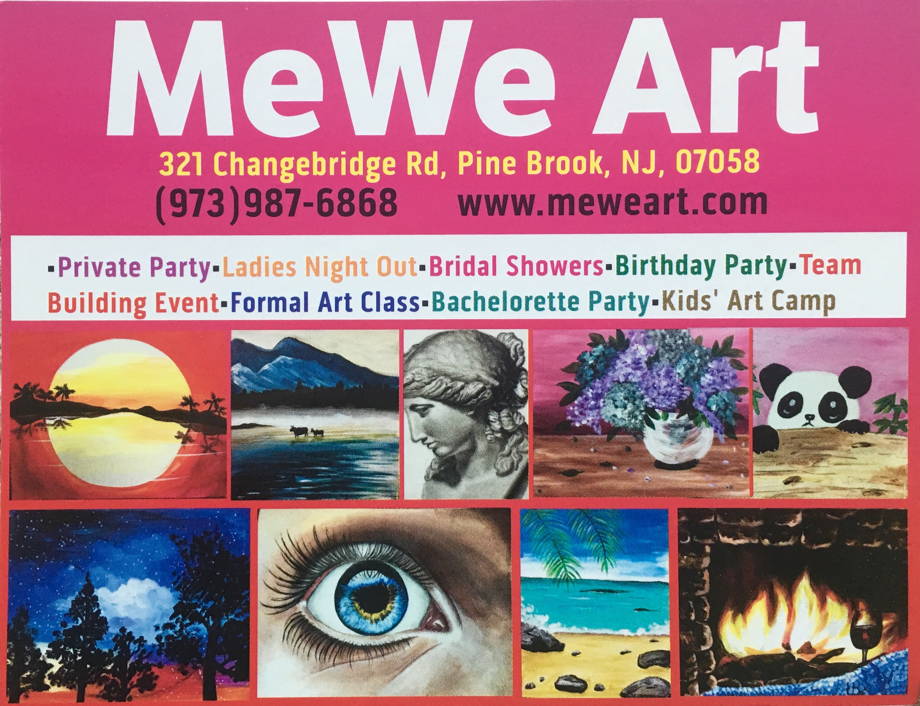 MeWe Art Summer Camp