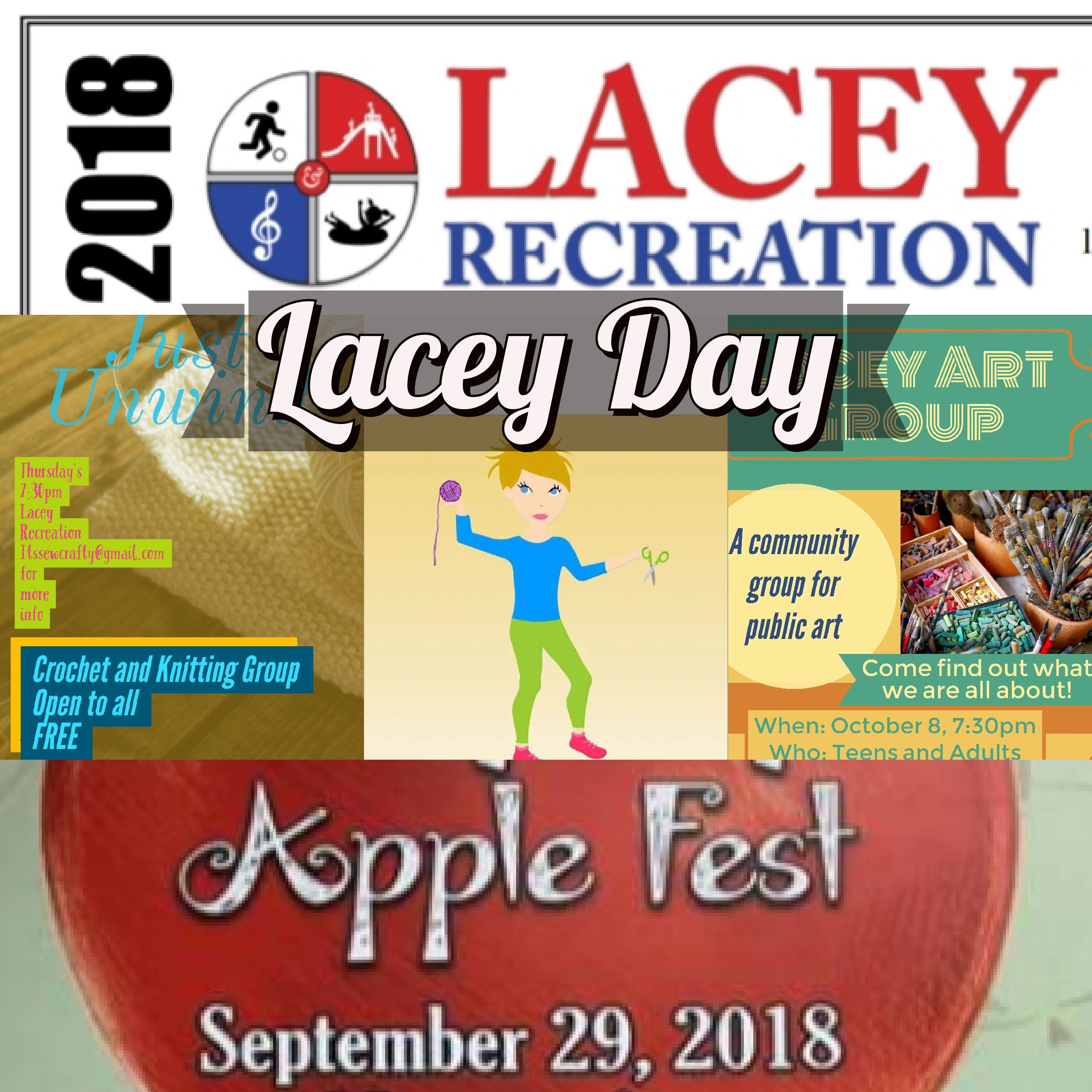 Lacey Day and Apple Fest at Gille Park