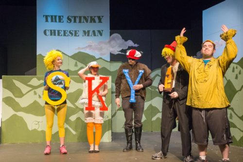 Stinky Cheese Man at Studio Players in Upper Montclair