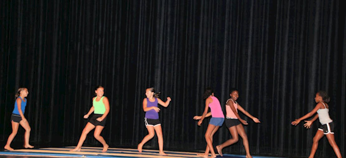 Campus Kids Activities include Guitar & Drums and Drama Dance