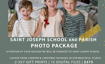 Lucky Eden Studio Partners with Saint Joseph School To Bring Beautiful Pictures to Families