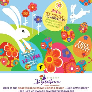 Visit with the Easter Bunny in Doylestown
