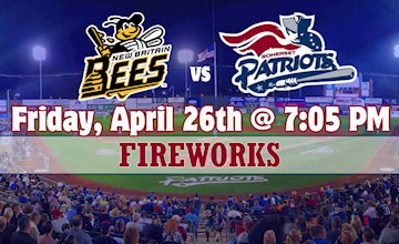 Somerset Patriots vs. New Britain Bees Opening Day Baseball Game