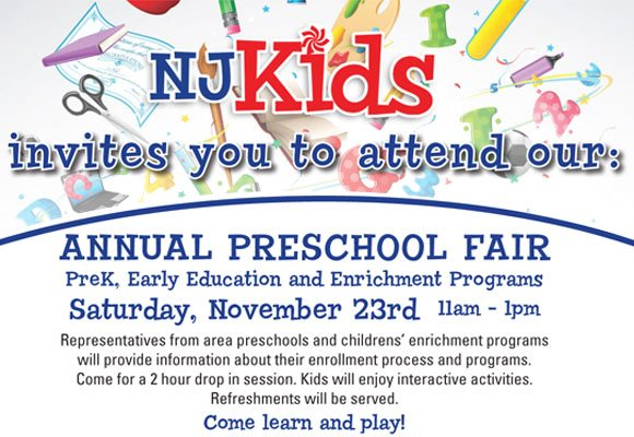 NJ Kids Annual Preschool Fair