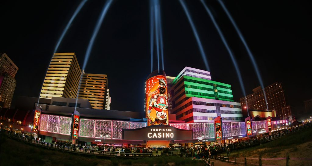 Tropicana's Multimedia Light and Sound Show