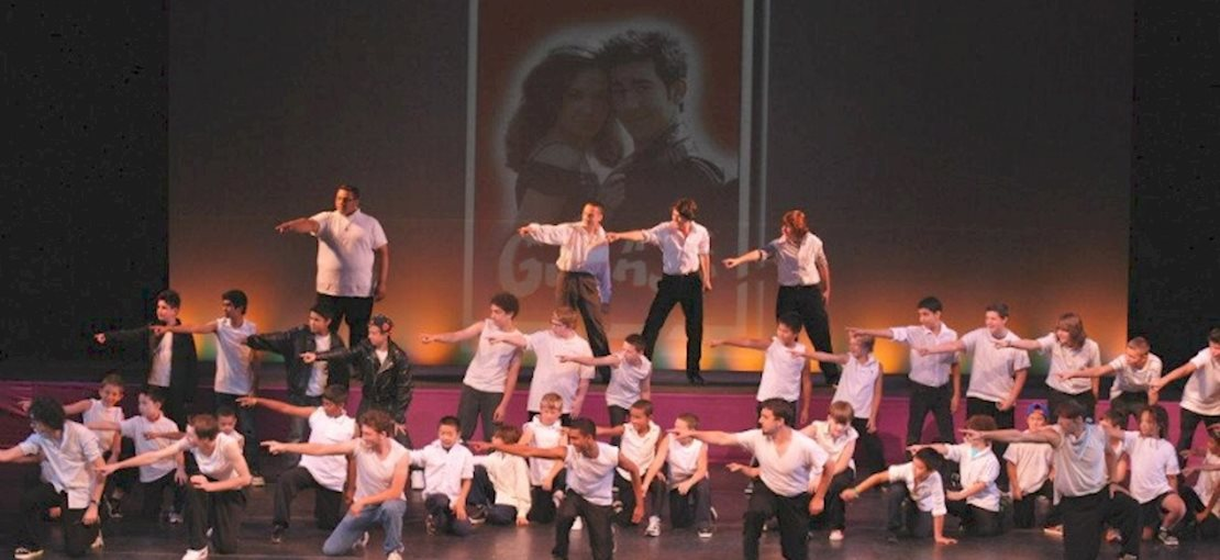 A Scene from The Broadway Spectacular