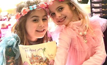 Fancy Nancy Tea Party and Beading at Just Bead Yourself