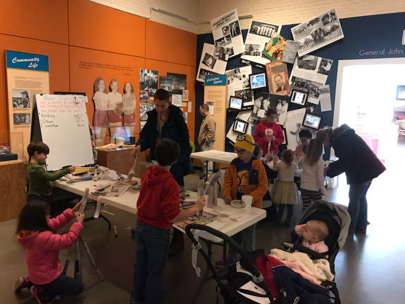 Kids Create: Pillars, Rafters and Facades! at Roebling Museum