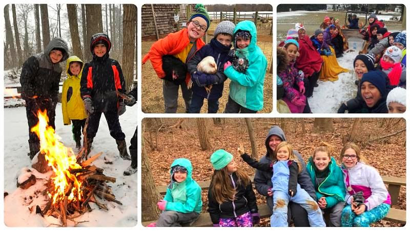 Winter Camp Days at Fernbrook Farms Environmental Education Center