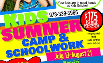 Kids Empire Summer Camp and Schoolwork