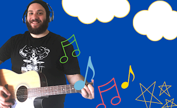 Andy Rocks Music @ hellolittlebuddies.com