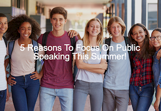 Public Speaking for Teens Summer Camp