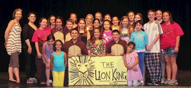 Lion King Kids (ArtQuest Theatre Camp funded by The Wayne Education Foundation) Rachel Menconi (Show/vocal director) and Erik Olssen (filmed & edited)