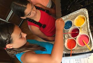 downdog kitchen summer yoga, cooking & art camp