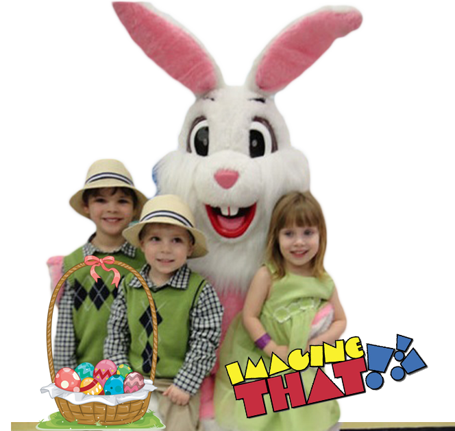 Easter Bunny Breakfast at Imagine That!!!