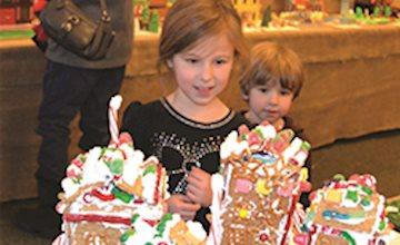 Gingerbread Wonderland & Craft Show at Frelinghuysen Arboretum