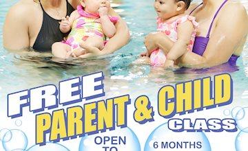 Free Parent and Child Swim Event at Five Star Swim School