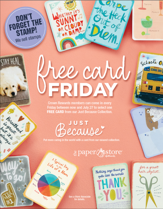 Free Card Friday
