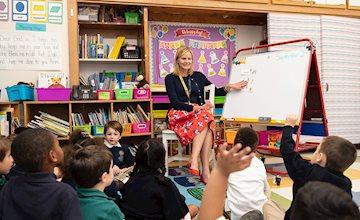 Kindergarten Skills Parent Workshop at Oak Knoll