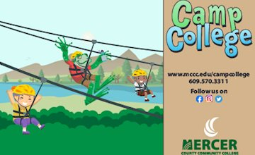 Camp College Open House at Mercer County Community College