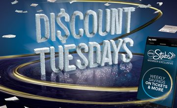 Discount Tuesdays-AMC Theatre-Rockaway Townsquare