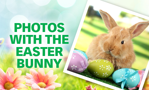 Easter Bunny Pictures at the Hamilton Mall