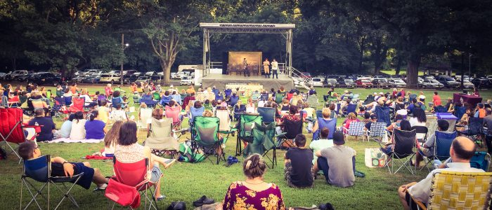 Shakespeare in the Park in Union County