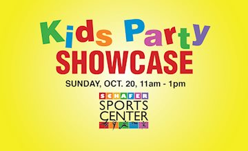 Kid's Birthday Party Showcase at Schafer Sports Center