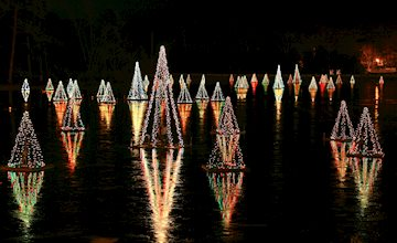 Holiday Light Show at Historic Smithville