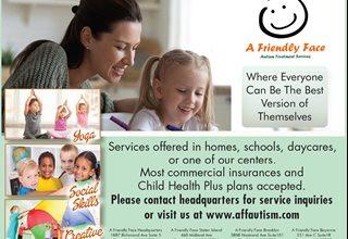 A Friendly Face ... ABA Autism Treatment Services