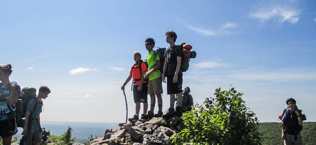 Take a hike on a day or overnight backpacking trip!