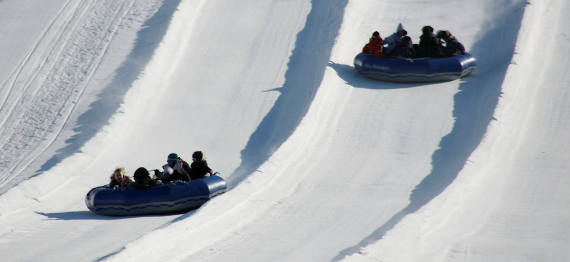 Enjoy the only family tubes in PA at Blue Mountain Resort!