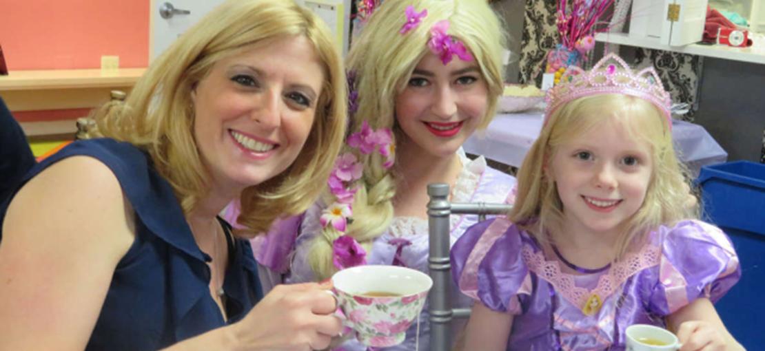 Princess Tea at Parteaz