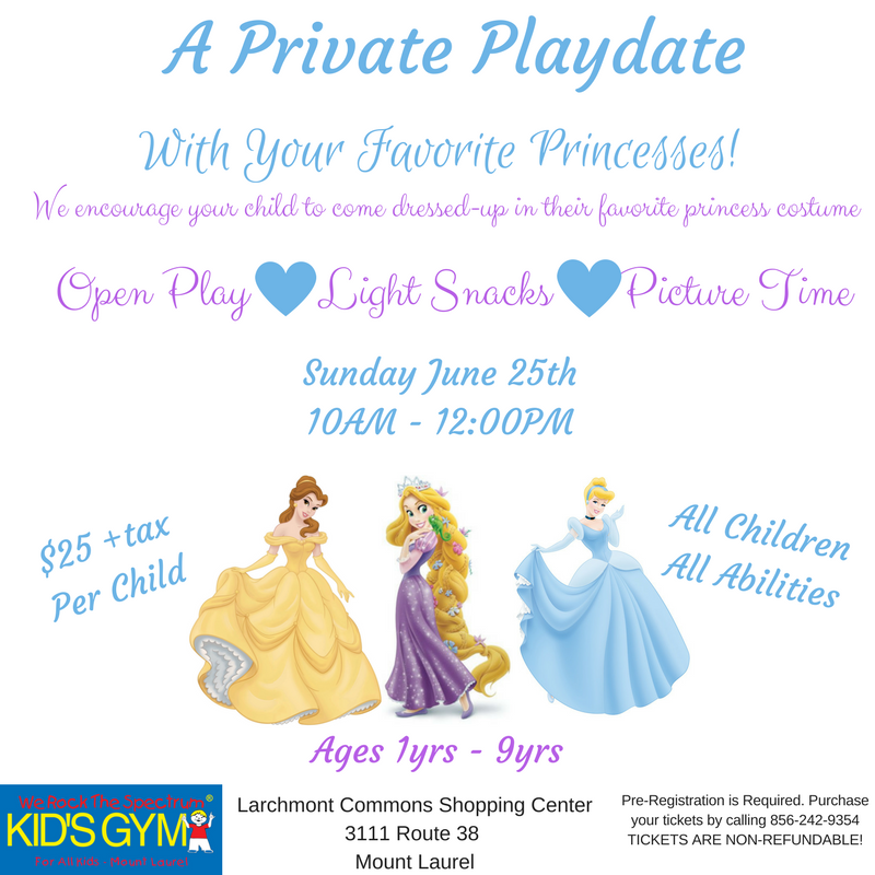 Private Play Date With Your Favorite Princesses
