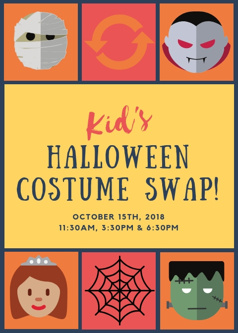 Kids Halloween Costume Swap at Play City