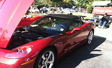 The Corvette Show at Historic Smithville