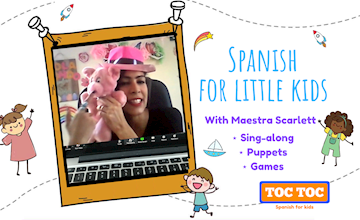 Toc Toc Spanish For Little Kids (2 - 5 Years Old) Online