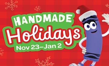 Handmade Holidays at Crayola Experience