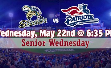 Somerset Patriots vs. Sugar Land Skeeters (Night)